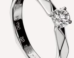 一分钟掌握婚戒定制克拉钻的选择方法
